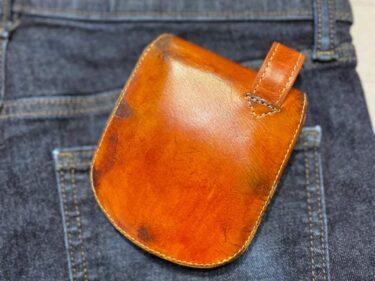 MICの「ヒップポケット革財布」を修理してみた